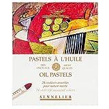 Sennelier artistes huile Pastels - Set of 24 x Still Life Couleurs