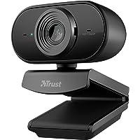 Trust Tolar Full HD 1080p Webcam, 2 Microfoni Integrati, Fuoco Fisso, 30 FPS, Riduzione del Rumore, USB Plug & Play, per…