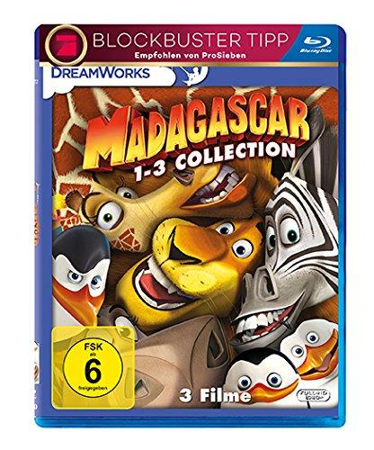 Bild von Madagascar 1-3 [Blu-ray]