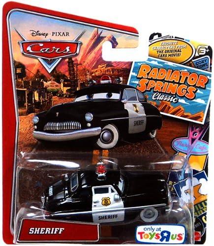 Disney/Pixar Cars, Cars, Cars, Radiator Springs Classic, Sheriff Exclusive Die-Cast Vehicle, 1:55 Scale | Aspect élégant  6b0306