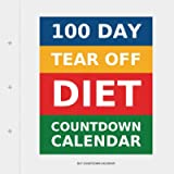 100 Day Tear-Off Diet Countdown Calendar