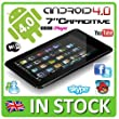 """**PROMOTIONAL OFFER** 7"""" aPad 3G Google Android 4.0 Tablet PC Netbook 1.2GHz Flash 11 Kindle, Youtube, iPlayer UK"""