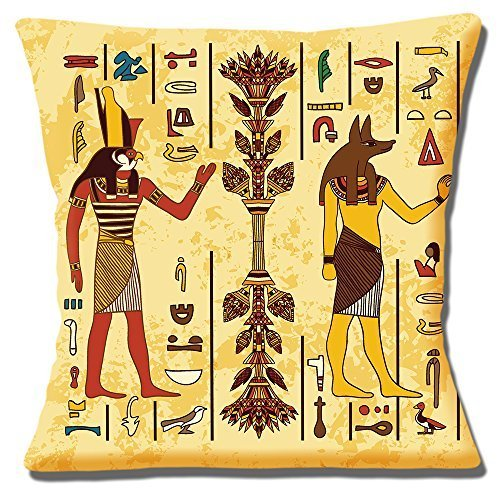 Egyptian Gods Horus And Anubis Ancient Symbols Multi 16 40cm