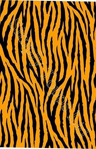 Tiger Streifen Bedruckt sugar zuckerguss blatt (ca. 7.5