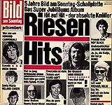 Bild am Sonntag / Riesen Hits / 5 Jahre Bild am Sonntag-Schallplatte / Das Super Jubiläums Album / Bildhülle / EMI 1C058-46314 / Deutsche Pressung / 12 Zoll Vinyl Langspiel Schallplatte LP /