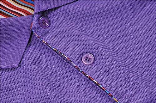 MTTROLI Herren T-Shirt Violett