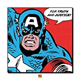 Pyramid International Captain America (For Truth and Justice) 40 x 40 cm