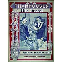 Her Secret, Mignon Anderson & Marie Eline, Harry Benham, 1912 - Foto-Reimpresión película Posters 24x32 pulgadas - sin marco