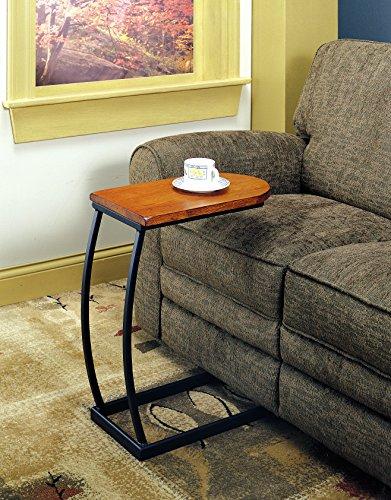 Coaster Home Furnishings Dessous de Verre 900279 Canapé Table, chêne Vieilli et métal Noir