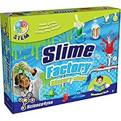 Science 4 You, Slime Factory Slippery Slugs Kit with Educational STEM Booklet