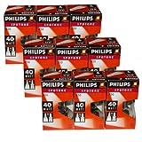 9 x Philips Reflektor Glühbirne Spotone R50 40W 40 Watt