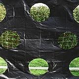 Torwand für Fußballtore – Zielschussplane 3x2m - 5