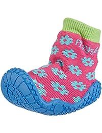 Playshoes Aqua-Socke Badeschuhe Blume Mädchen Aqua Schuhe