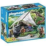 PLAYMOBIL® 4843 - Schatzjäger - Schatzsuchercamp mit Riesenschlange