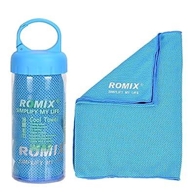 ROMIX Mikrofaser-Handtuch Kühlhandtuch Reisehandtuch