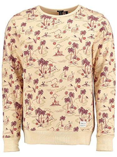 O'Neill Herren Sweatshirt Lm Conduct Sweatshirt white aop