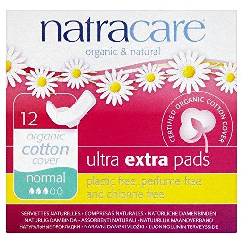 natracare-de-algodon-organico-de-ultra-almohadillas-normales-adicionales-con-alas-12-por-paquete