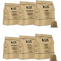 60 capsule kit degustazione solubili compatibili macchina caffè Nespresso - Il Caffè Italiano