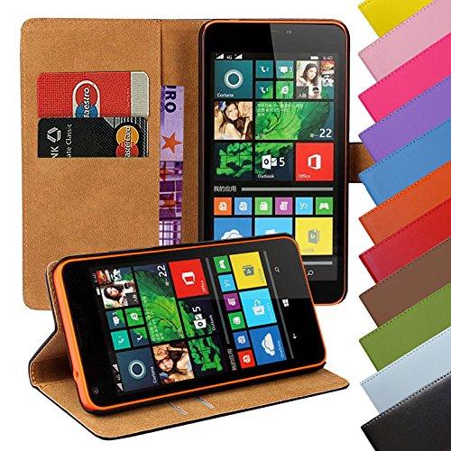 EximMobile - Book Case Handyhülle für Nokia 3 mit Kartenfächer in Schwarz | Schutzhülle aus PU-Leder | Handytasche als Flip Case Cover | Handy Tasche | Etui Hülle PU-Ledertasche