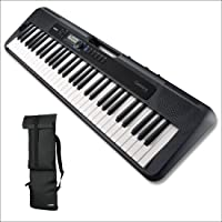 Casio CT-S300 61-Keys Portable Keyboard with Casio CBS100 Carry Bag