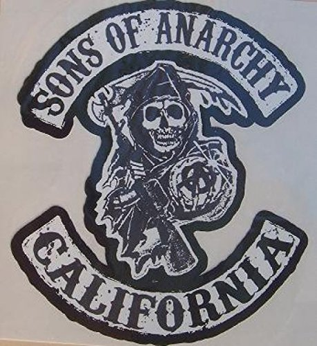 Gilet Cuir Biker – Jeu de 3 stickers de sons of anarchy