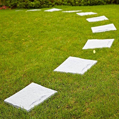1 x 4 Pack Parkland Plastic Patio Paving Slabs Ste