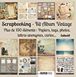 Scrapbooking Kit album vintage