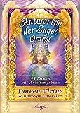 Antworten der Engel-Orakel: 44 Orakelkarten mit Anleitungsbuch - Doreen Virtue, Radleigh Valentine