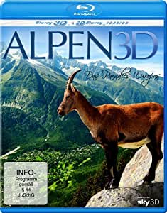 Alps 3D - Paradise of Europe (3D & 2D) [ Origine Allemande, Sans Langue Francaise ] (Blu-Ray)