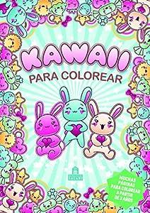 Kawaii para colorear (Libros para