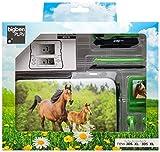 bigben Nintendo 3DS XL -Zubehörpaket - Zubehör-Set Pferd hellbraun