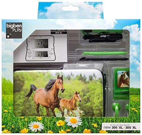 bigben-nintendo-3ds-xl-paquet-daccessoires-set-daccessoires-cheval-marron-clair