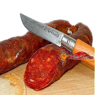 Salsiccia Calabrese Salame aus Kalabrien Italienische Salami Aufschnitt Kalabrische Wurst 300gr Ohne Chili Spezialfertigkeit Qualitätsprodukt