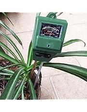 Soptool 3-in-1 Gardening Tool Soil Meter Light Meter pH Meter Acidity Moisture Sunlight Tester for Plant Flower