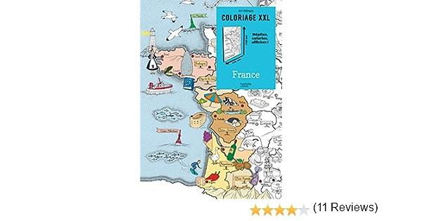 Coloriage Xxl France Amazon Fr Emmanuelle Pioli Livres