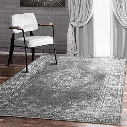 A2z Schnellspanner Teppich traditionellem Kollektion, vintage grau 240x 330cm–8x 11ft Bereich - Bereich 8x10 Teppich