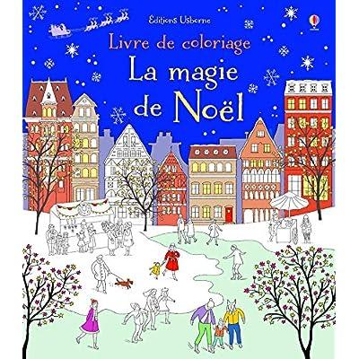La magie de Noël à colorier