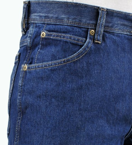 Wrangler Herren Jeans Regular Fit Str Rinsewash Darkstone