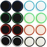Pandaren® pouce thumb grip 16 unités Ensembles noctulescents pour PS2, PS3, PS4, Xbox 360, Xbox One, Wii U, Switch PRO…
