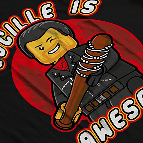 Lucille Is Awesome Lego Walking Dead Women's T-Shirt Black