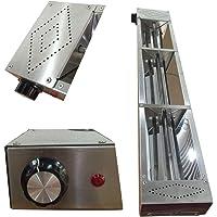 Lampe Chauffante Accrochante D'acier Inoxydable, Commercial Réchaufeur d'aliments pour les Buffet Restaurants et les…