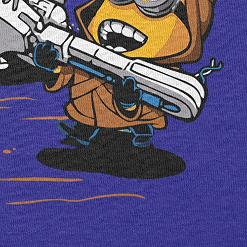 NERDO - Banana Jawas - Damen T-Shirt Marine