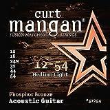 Curt Mangan Phosphor Bronze 12-54 jeu de cordes pour guitare acoustique