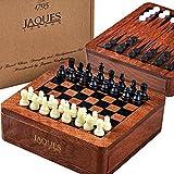 Jeu d'échecs 3 en 1 avec jeu de backgammon et jeu de dames 12cm - Jaques of London
