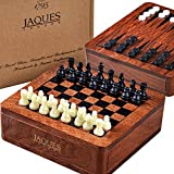 Jaques of London Reise-Schach, Backgammon & Dame Set