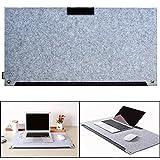 Itian Filz Multifunktional Schreibunterlage Schlüssel Board Mausunterlage Alternative Schreibtischunterlage(grau)