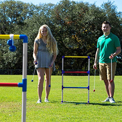 Riverry Golf Throwing Ladder, Ladder Ball Game Set Golf Toss Gioco Backyard Toys Giochi all'aperto per Adulti e Bambini Premium Ladder Toss Outdoor Game