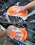 #2: Getko Car wash Sponge window cleaning washing machine sponge car cleaning brush (Random color)