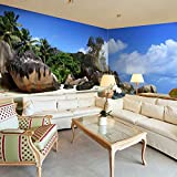murando - Eckfototapete 550x250 cm - Vlies Tapete - Moderne Wanddeko - Design Tapete - Wandtapete - Wand Dekoration - Landschaft Natur c-A-0058-a-c