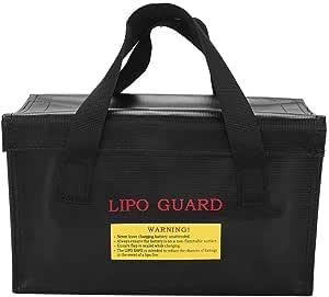 Ftvogue Lipo Tasche Explosionssichere Lipo Batterie Tasche Lipo Safe Bag Für Lipo Battery Storage Küche Haushalt